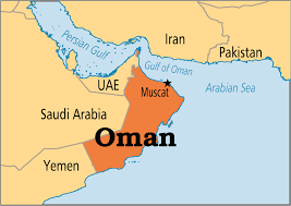 map of oman and uae sep 24 oman operation world
