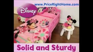 Minnie Mouse Bedroom Set Toddler Minnie Mouse Toddler Bed Hd Youtube