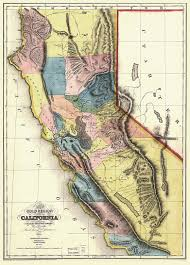 Domain Austin Map by 1850 Mariposa County California Census