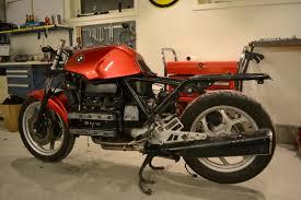 der rote baron bmw k100 cafe racer