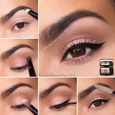 tutorial make up natural untuk kulit coklat 30 tutorial make up mata natural coklat sehari hari
