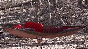 klymit insulated hammock v review youtube