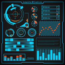 futuristic infographic design vector premium download