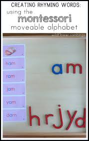 thanksgiving rhymes creating rhyming words with the montessori alphabet wildflower