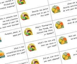 thanksgiving conversation starters the chilly