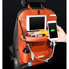 tablette pour siege auto magike organiseur voiture support pour siège arrière pour enfant