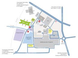 London Airports Map How To Find Us Mrc Laboratory Of Molecular Biology