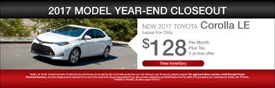 toyota lease 2017 2018 toyota new u0026 used car dealer serving phoenix peoria