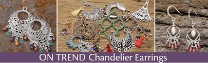 Sparkly Chandelier Earrings Chandelier Earrings Lima Beads