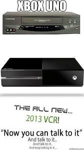 Xbox One Meme - xbox uno xbox one vcr quickmeme