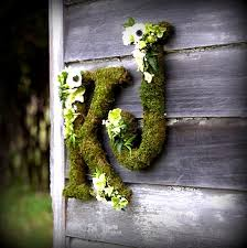 moss covered letters moss covered letter wedding decor woodland forest party preserved