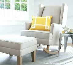 nursery chair and ottoman gray nursery chair extraordinary glider and ottoman for nursery