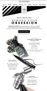 sephora thanksgiving sale email newsletter design ideas graphic design pinterest email