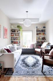 living tiny l couch tv room tv to room size guide zen tv room