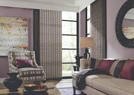 Graber Vertical Blinds Graber Fabric Vertical Livingroom1 Jpg