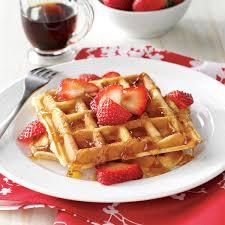 thanksgiving waffle recipe true belgian waffles recipe taste of home