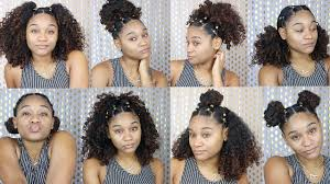 curly hair updos step by step more easy hairstyles for natural curly hair youtube