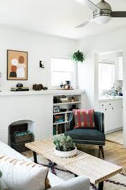 the un bachelor bachelor pad a fresh midcentury living room