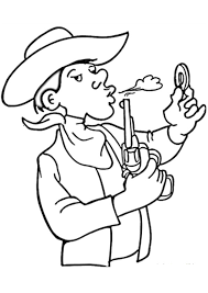 cowboy coloring pages donald duck coloringstar