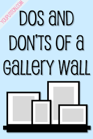 How To Hang Fabric On Walls Without Nails by Dos And Don U0027t Of A Gallery Wall Best Of Pinterest Pinterest