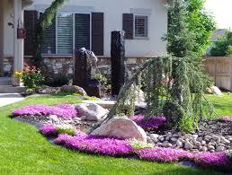 diy landscaping ideas on a budget nyapu rocks tikspor garden trends