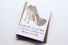 birthday cards with shoes birthday card a new pair of shoes folksy