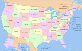 us map states and capitals map usa states 50 states with cities major tourist