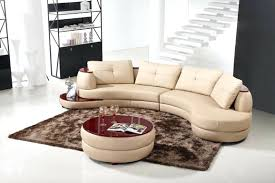True Modern Sofa by Round Leather Sectional Sofa U2013 Seedabook Com