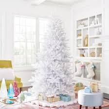 white tree skirt white faux fur tree skirt grandin road