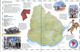 Geographical Map Of Usa Uruguay Mapfree Maps Of Us