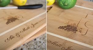 personalized cutting board wedding gift idea personalized cutting boards