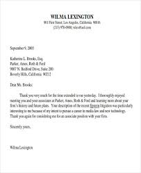 sample job interview thank you letter 9 post interview thank you letter template free sample example