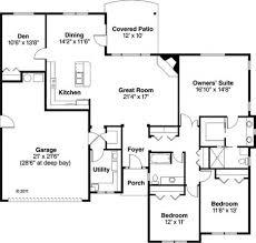 Patio Home Plans Simple Home Plans With Inspiration Ideas 63734 Fujizaki