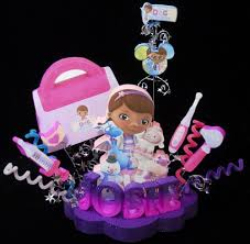 doc mcstuffin cake toppers doc mcstuffins with purse birthday cake topper decoration