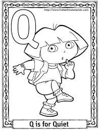 Q Coloring Page Vitlt Com Coloring Pages Q