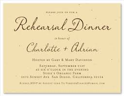 rehearsal dinner invitations green rehearsal dinner invitations antique script by