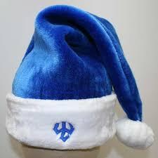 blue santa hat blue santa hats tag hats