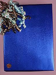 metallic gift wrap sparkle blue metallic gift wrap 18 x 417 gift