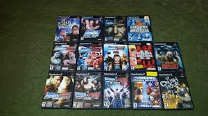 my modest ps2 collection wwe