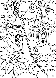 barbapapa jungle coloring pages batch coloring