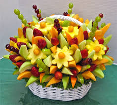 fruit flower arrangements fruits flower bouquet easy crafts ideas to make