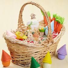 kids picnic basket a charming gnome garden easter basket that ll delight kids