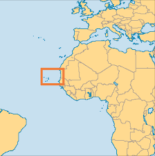 cape verde map world cape verde islands operation world