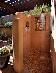 Outdoors Shower - seasonal style bathroom trends to try out this summer