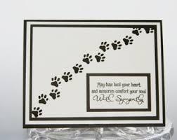 dog condolences sympathy cards etsy