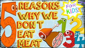5 reasons we don u0027t eat meat for kids youtube