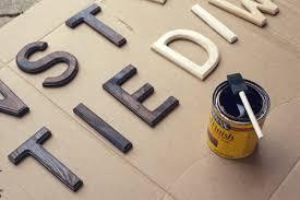 diy wooden letter sign wit u0026 whistle