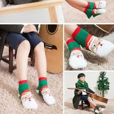 12 pieces lot u003d6pairs children christmas socks cotton cute cartoon
