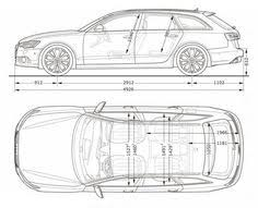 dimension audi a6 audi a6 avant dimensions side 12 vector design