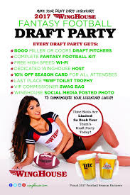 Winghouse by Fantasy Football The Winghouse Bar And Grill